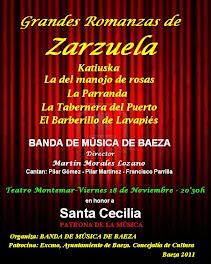 SANTA CECILIA 2011 ROMANZAS DE ZARZUELA