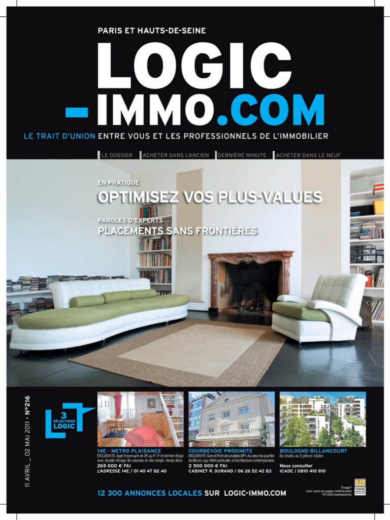 Morgan stachs est dans la presse immobilier miami for Logic immo 84
