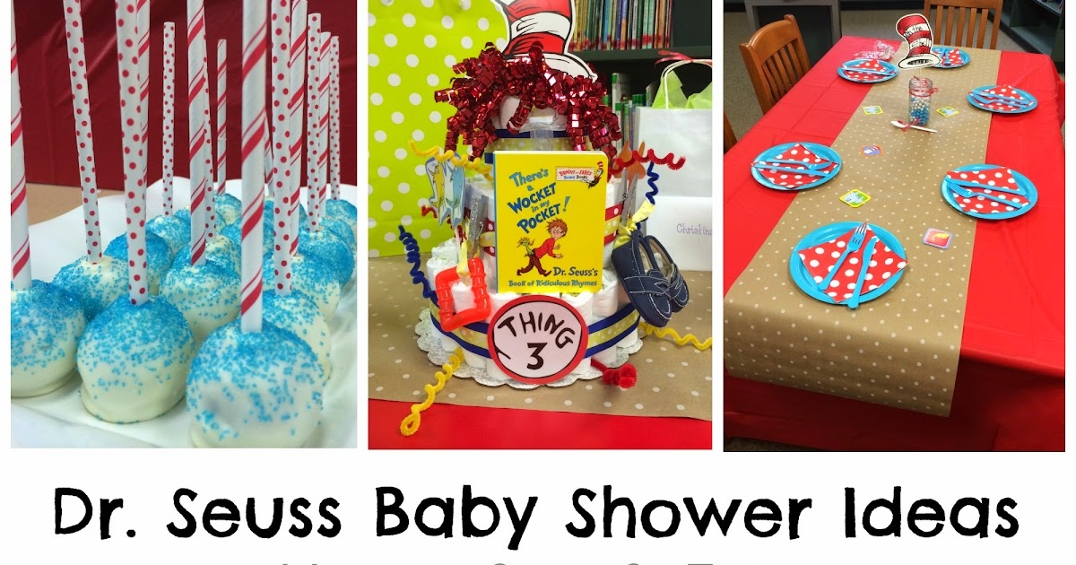 measure once cut twice dr seuss baby shower decoration ideas
