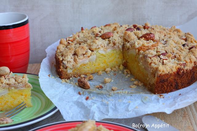 ciasto dyniowe z jabłkami-przepis