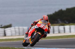 Marquez Tercepat Latihan Bebas FP3 MotoGP Australia 2015
