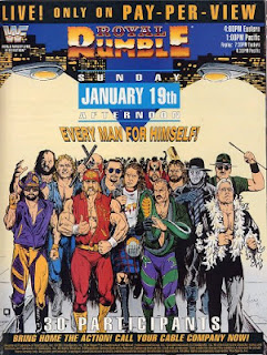 WWF ROYAL RUMBLE 1992 - Event poster
