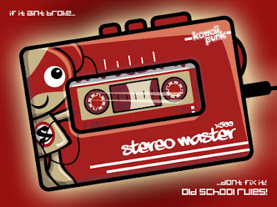 It's a Stereo Mascot personel stereo!