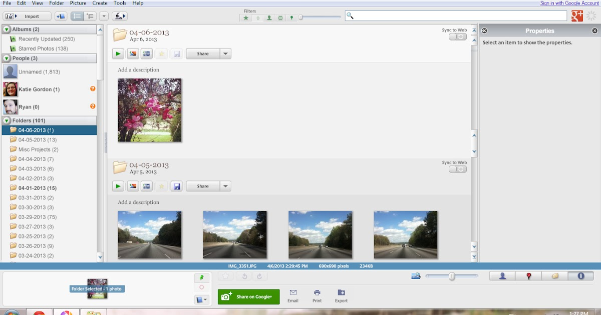how to use picasa 3 to make collage
