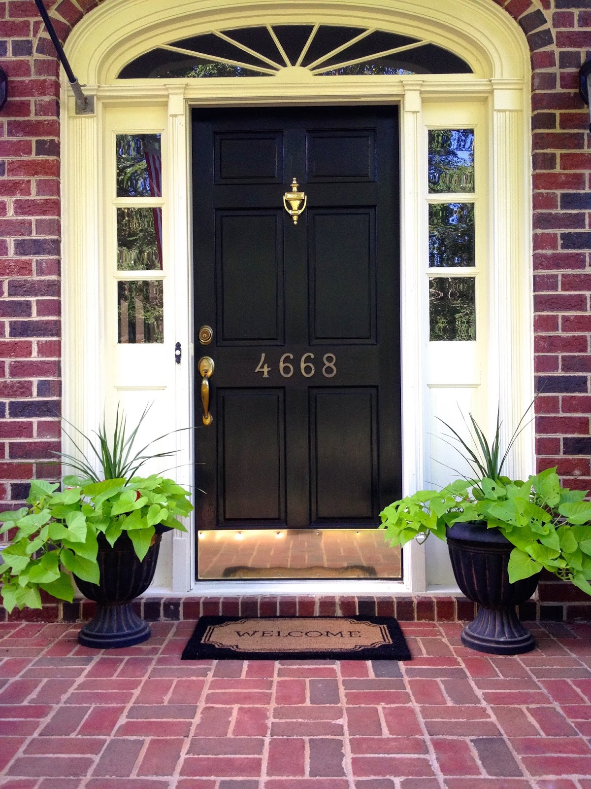 the collected interior add curb appeal w a front door