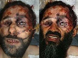 Osama Bin laden dead May 2011,  Fake death photo, Osama Bin laden death photo hoax, superimposed death photo of Osama bin laden