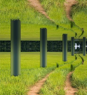 Entwurf zu einer natürlichen Säulenhalle