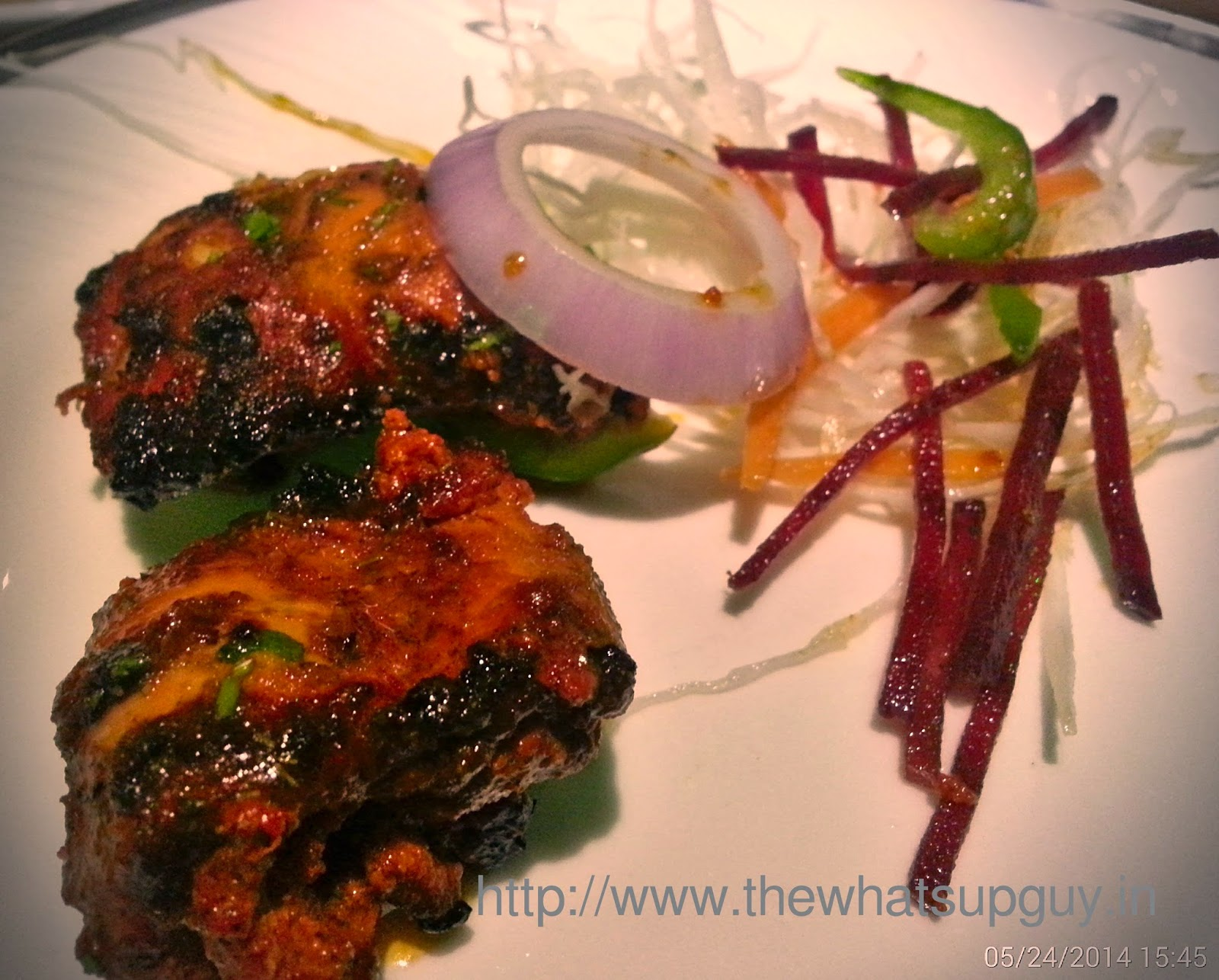 Lahori Chicken Tikka At Serengeti Madiwala Bangalore