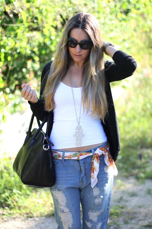 Boyfriend jeans blogger