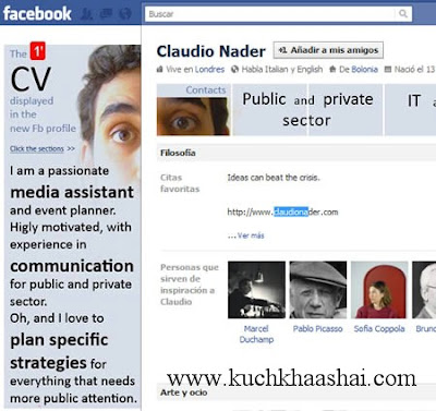 12 Coolest Facebook Profiles