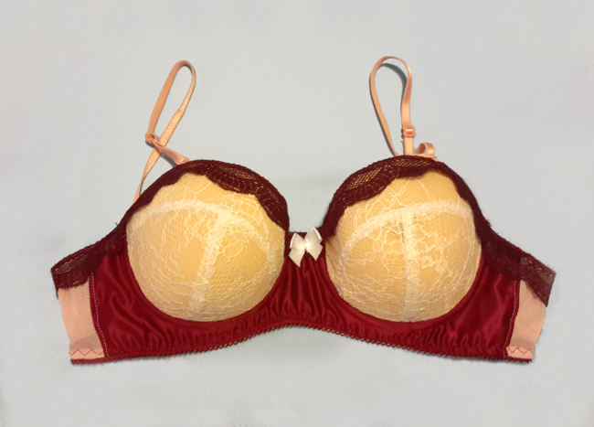 5f81bae549 Sofia made this bra using the soon-to-be-released Maya pattern from AFI. As  a pattern tester Sofia had early access to the pattern and made up this  beauty!