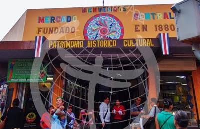 Mercado Central, San José. Costa Rica.