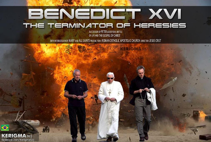 Pope Benedict XVI Terminator of Heresies