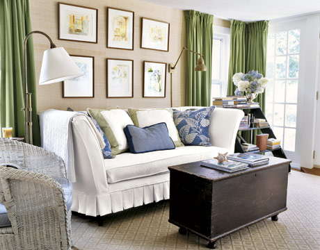 Cottage Living Room Decorating Ideas 2012 Modern Furniture Deocor