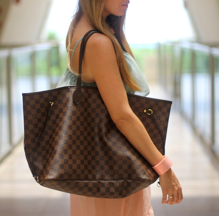 Louis Vuitton Neverfull GM by fashion blogger Mnica Sors