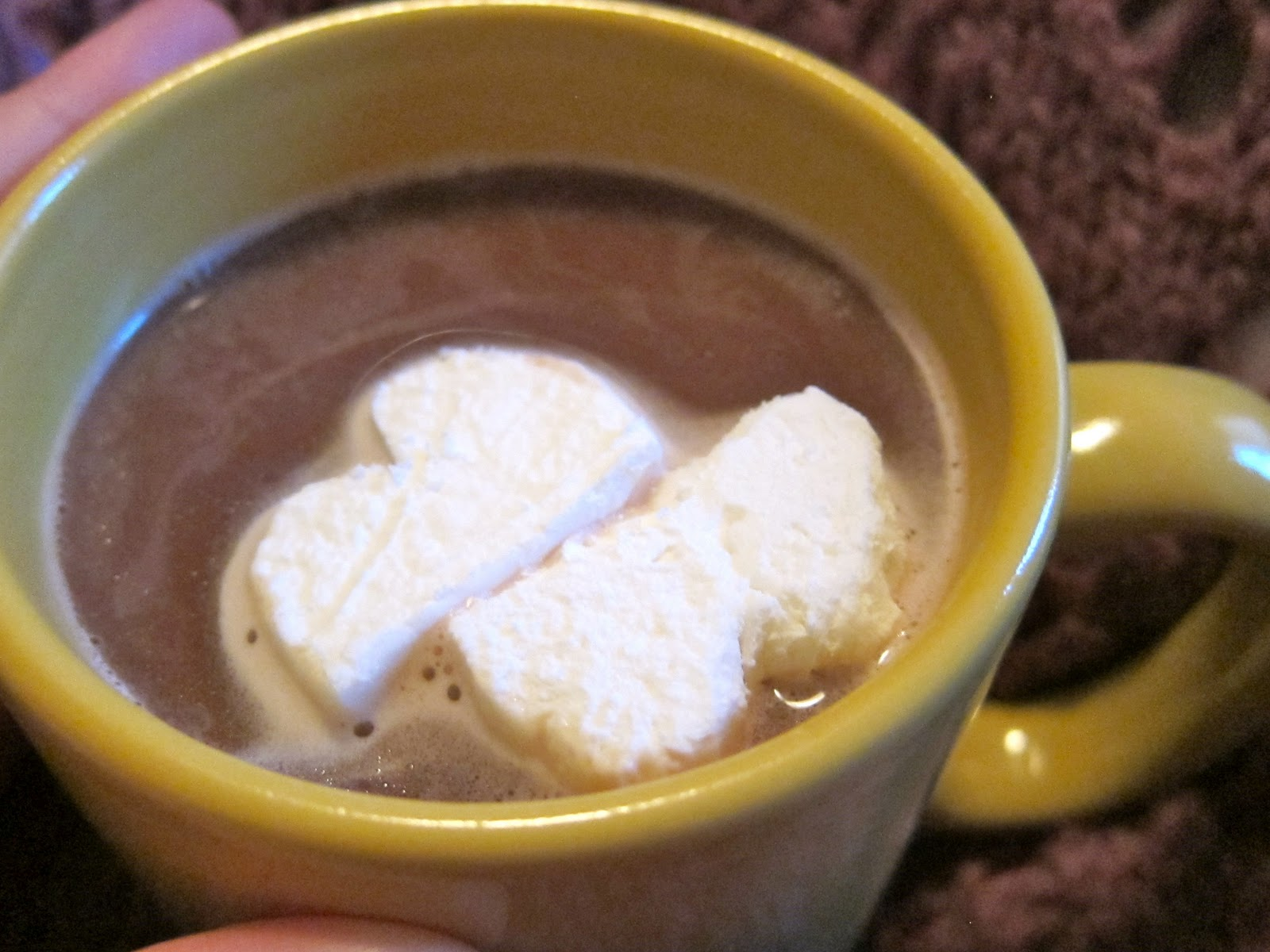 Young Idealistic Baker: Hot Chocolate Plus... Frozen Whipped Cream!
