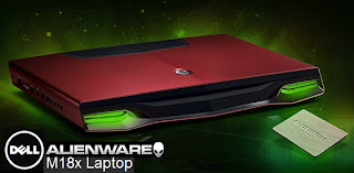 Dell Alienware M18x Laptop Gaming