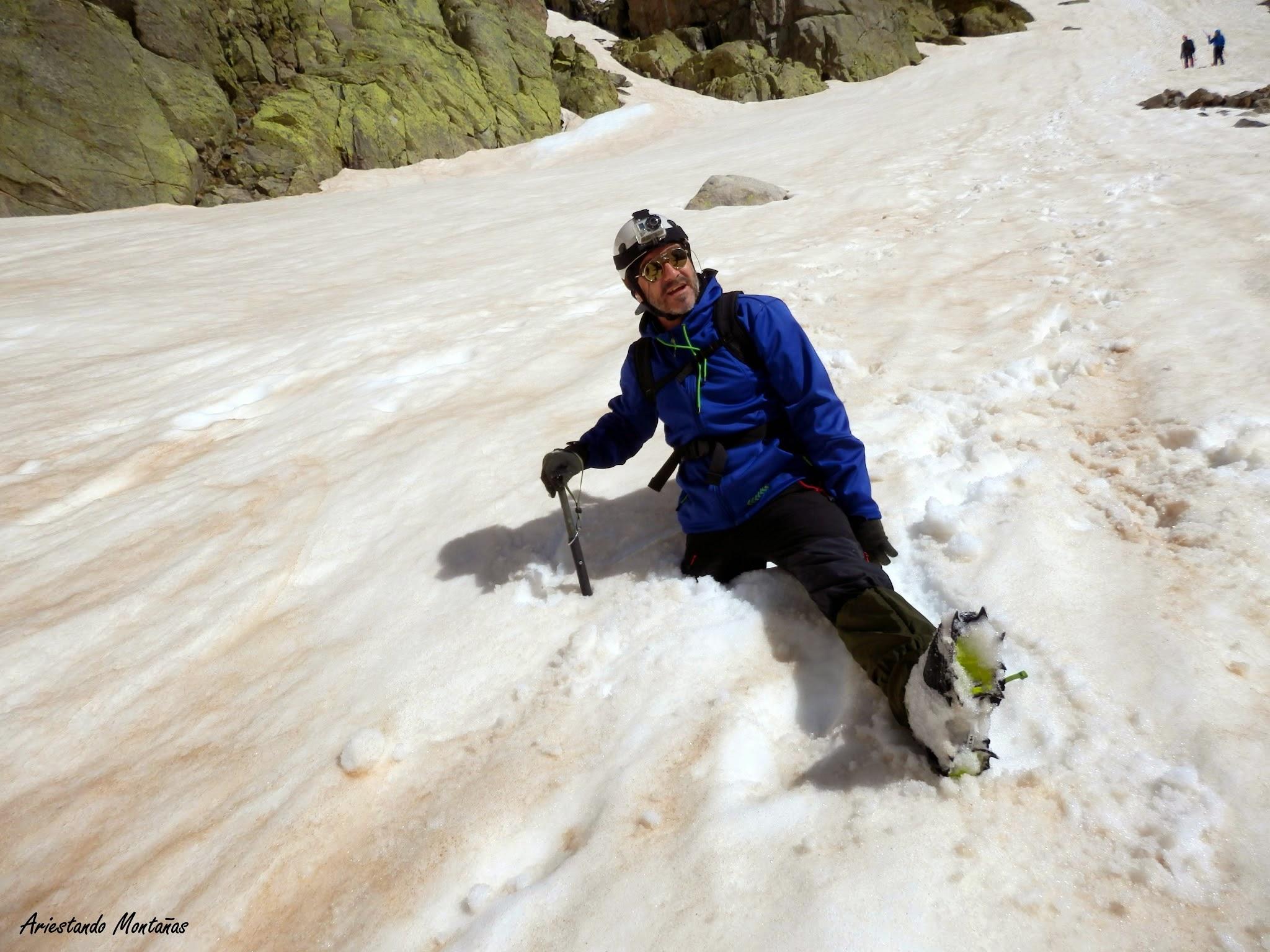 Cerro de los Huertos, descenso