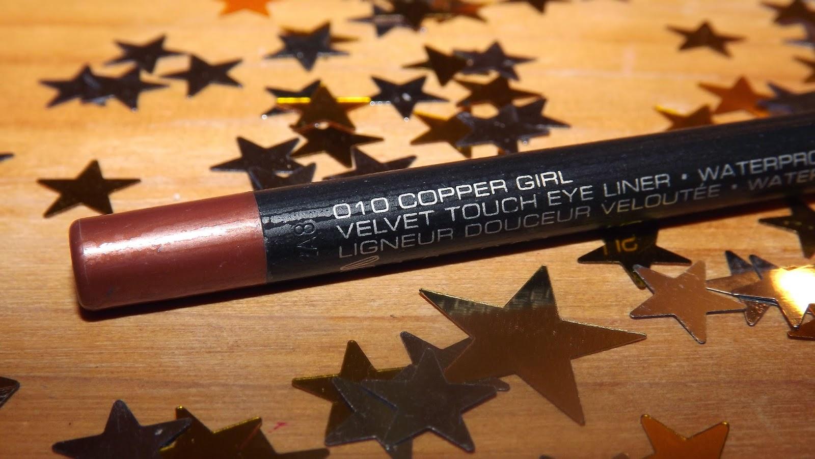 gosh eyeliner copper girl