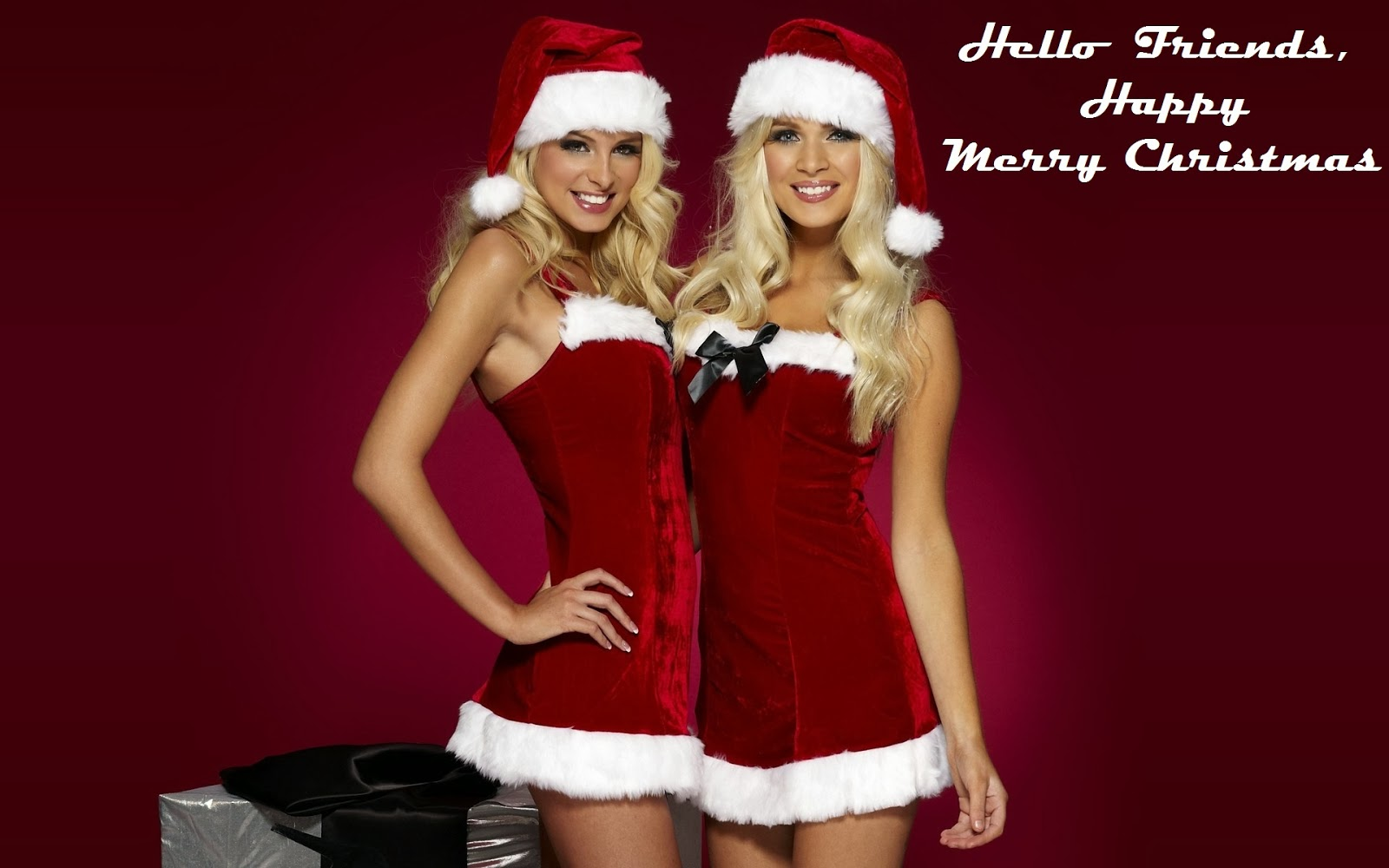 Christmas Greetings Collection For Social Network Sharing