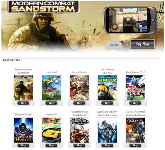 download game android free gameloft