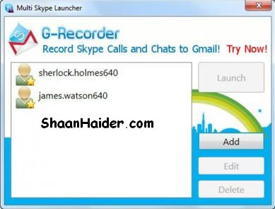 HOW TO : Login Multiple Skype Accounts Simultaneously