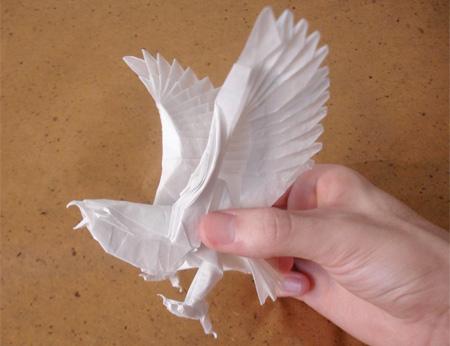 Origami passaro