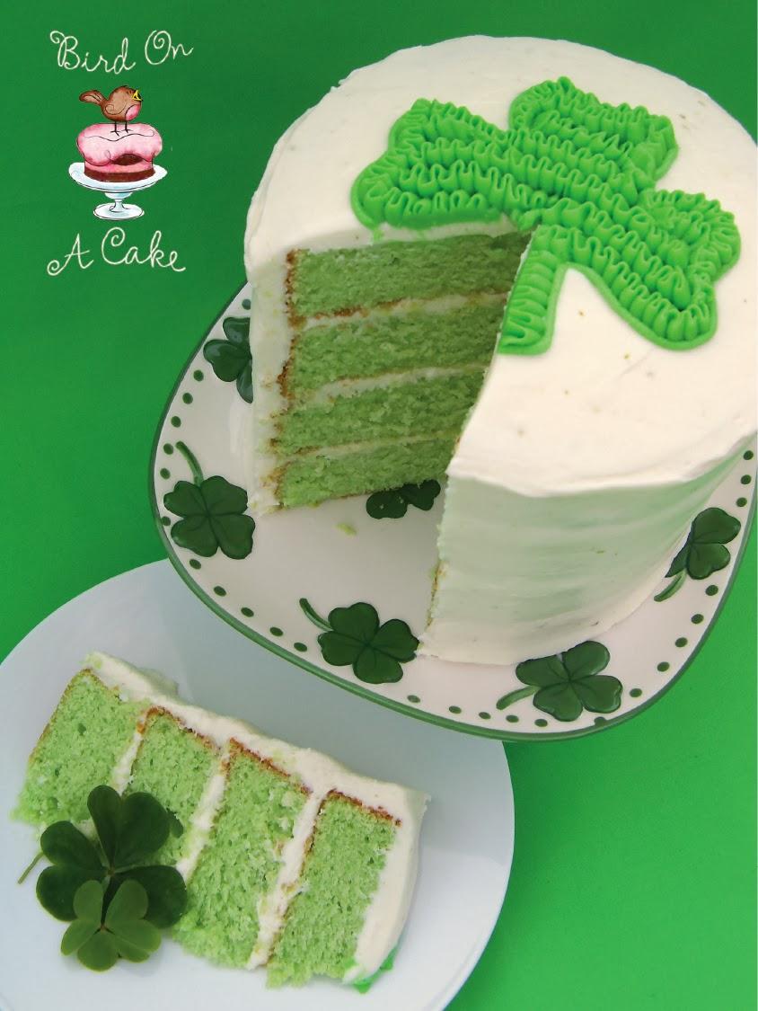 http://birdonacake.blogspot.com/2012/02/key-lime-shamrock-cake.html