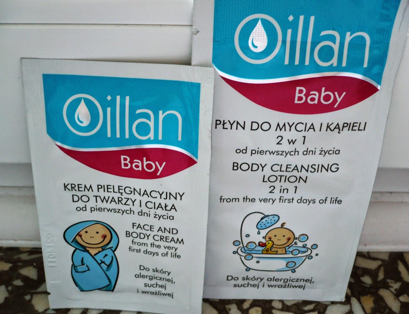 Coś dla maluszków czyli Oillan Baby!