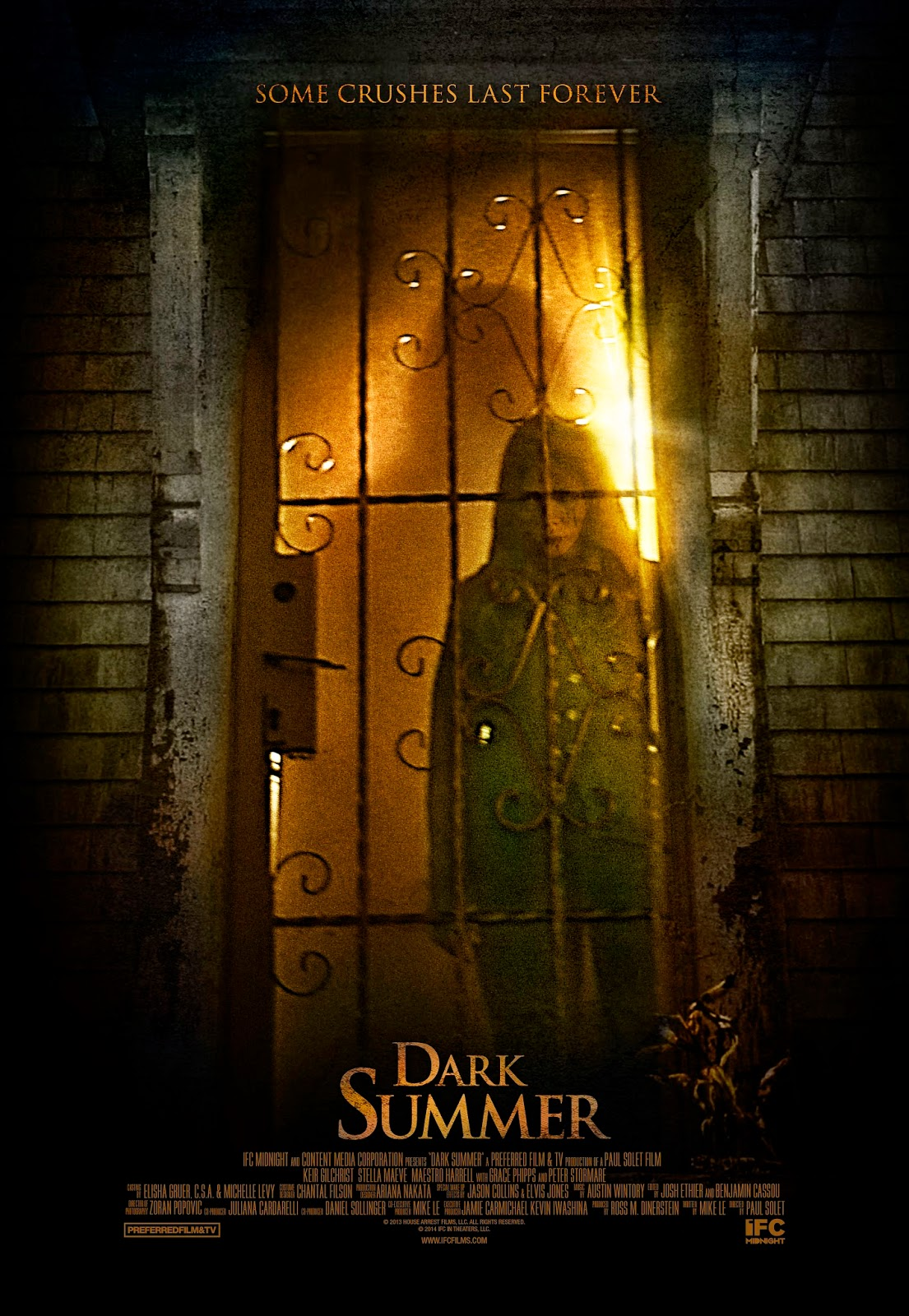 Dark Summer movie poster