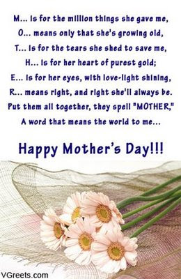 Mothers Day Sayings