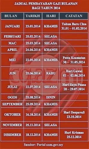 Salary Schedule 2014