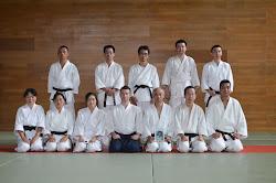 2013年8月17日の武道家達