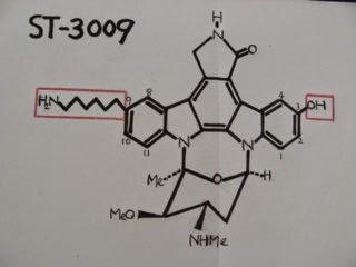 夢のPAK阻害剤 「STー3009」: <br>IC50=1 nM (水溶性)