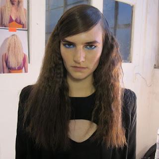 Moschino catwalk model