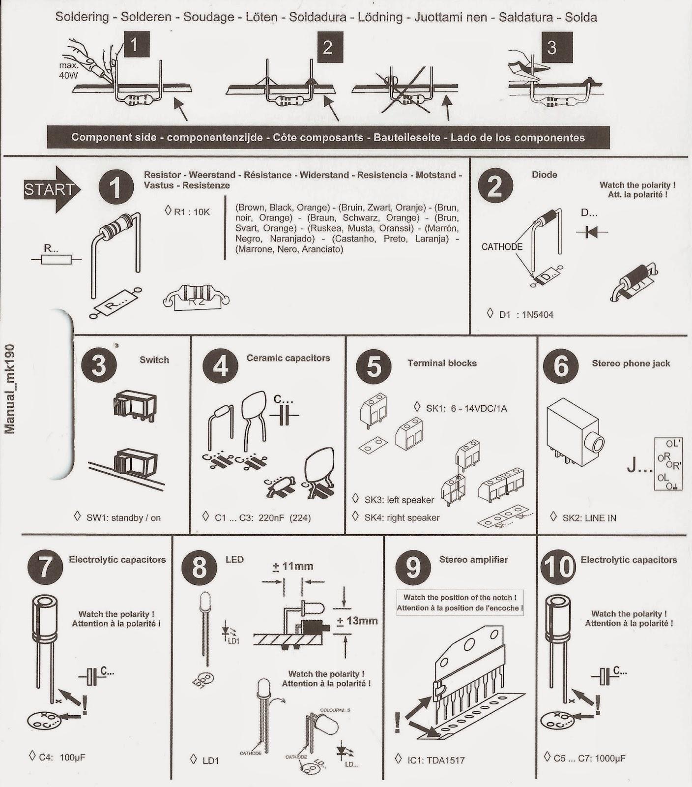 MK190 manual