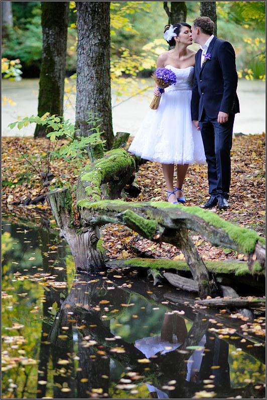 romantiška vestuvinė fotosesija  I. Navidansko parke