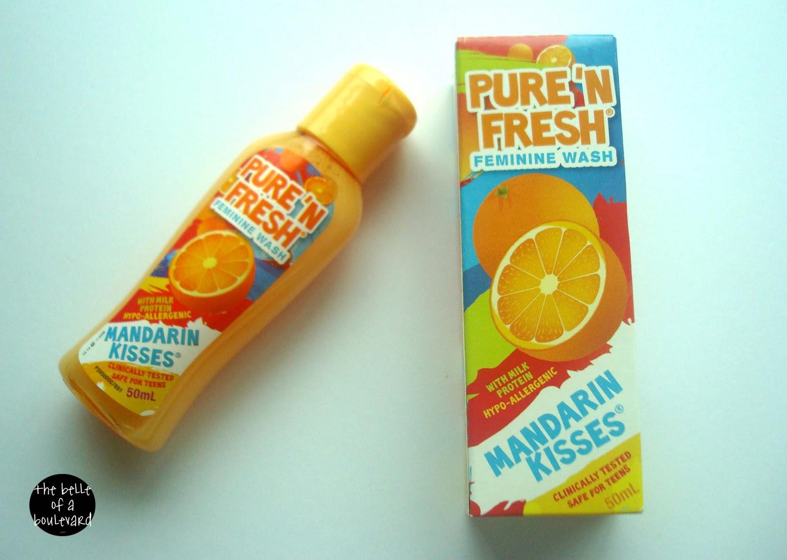 Pure 'N Fresh Feminine Wash For Teens