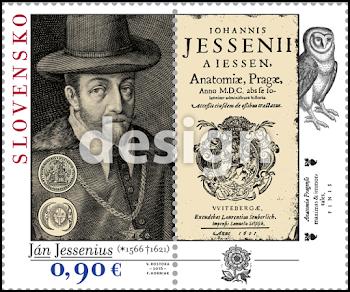"""V ROCE 2016 BYLO VYDÁNO SPOLEČNÉ ČESKO-SLOVENSKO-POLSKÉ VYDÁNÍ """"JAN JESSENIUS (1566-1621)"""""""