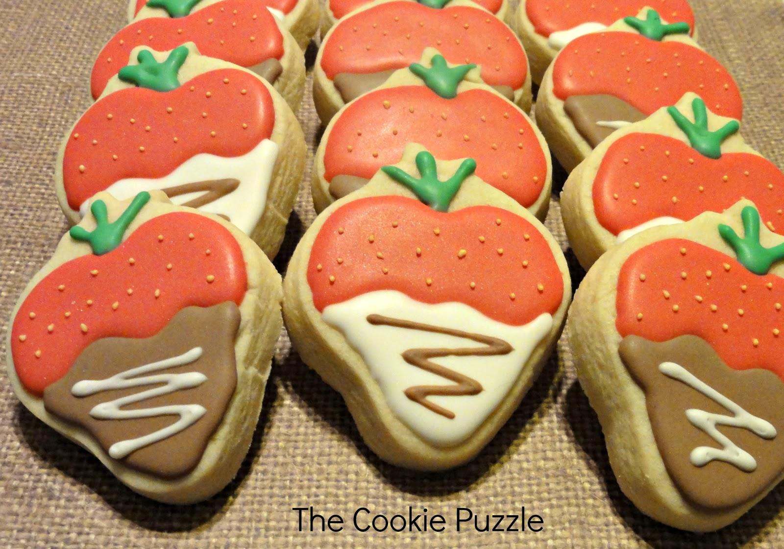 The Cookie Puzzle: My Cookie Marathon...Valentine's Day 2013