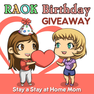 RAOK Birthday Giveaway, enter to win $100 Amazon GC. Ends on 6/11