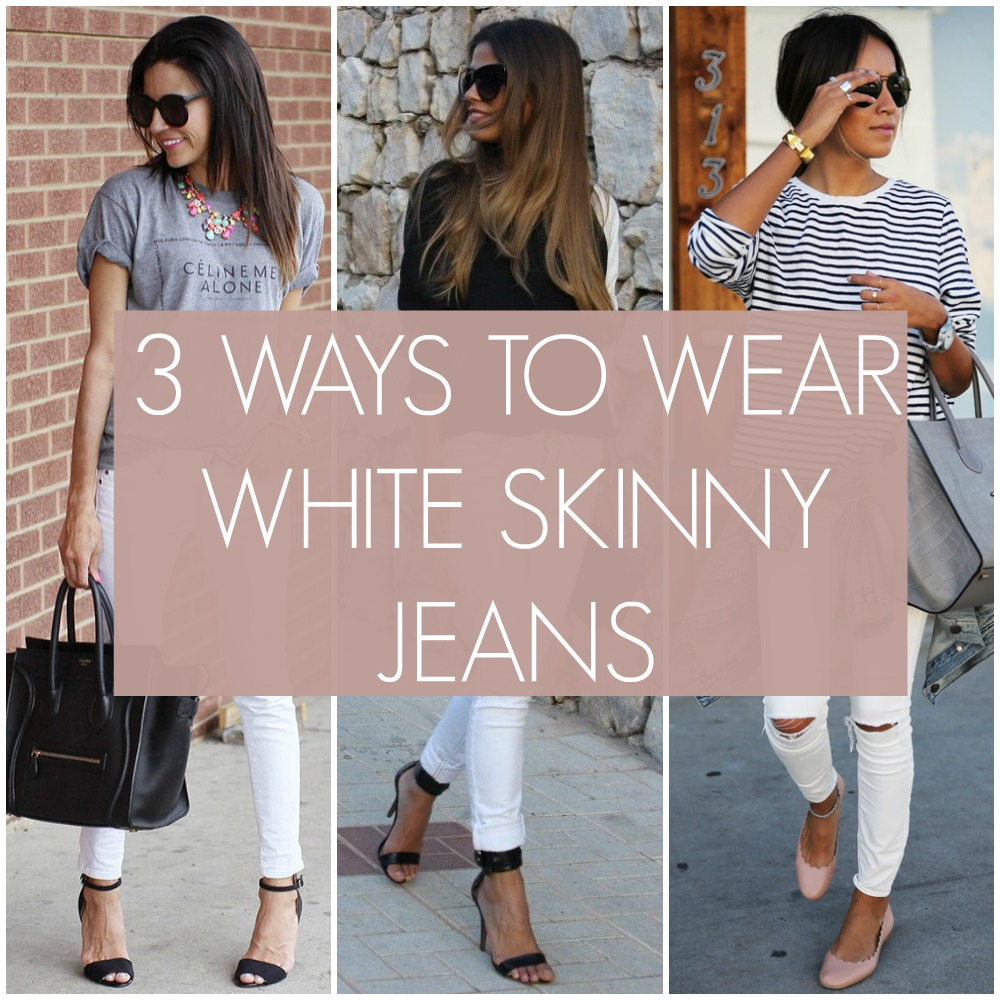 What To Wear With White Jeans - Jeans Am
