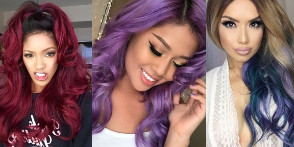 Creative Colorful Hairstyles - Creative hairstyle color