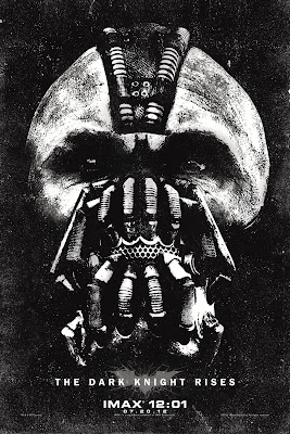 The Dark Knight Rises IMAX Midnight Screening Bane Theatrical One Sheet Movie Poster