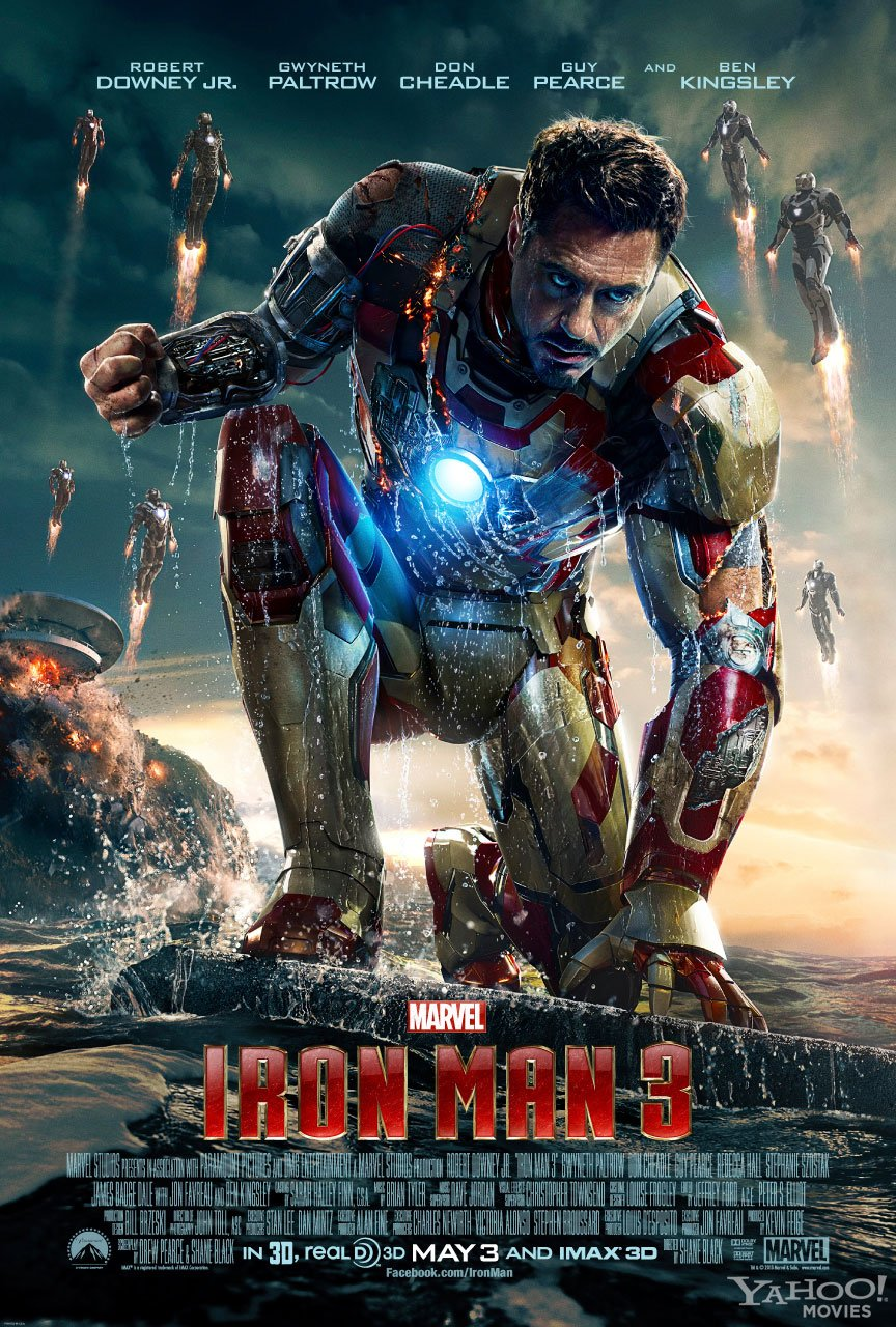 MarketSaw 3D Movies Gaming And Technology Iron Man 3