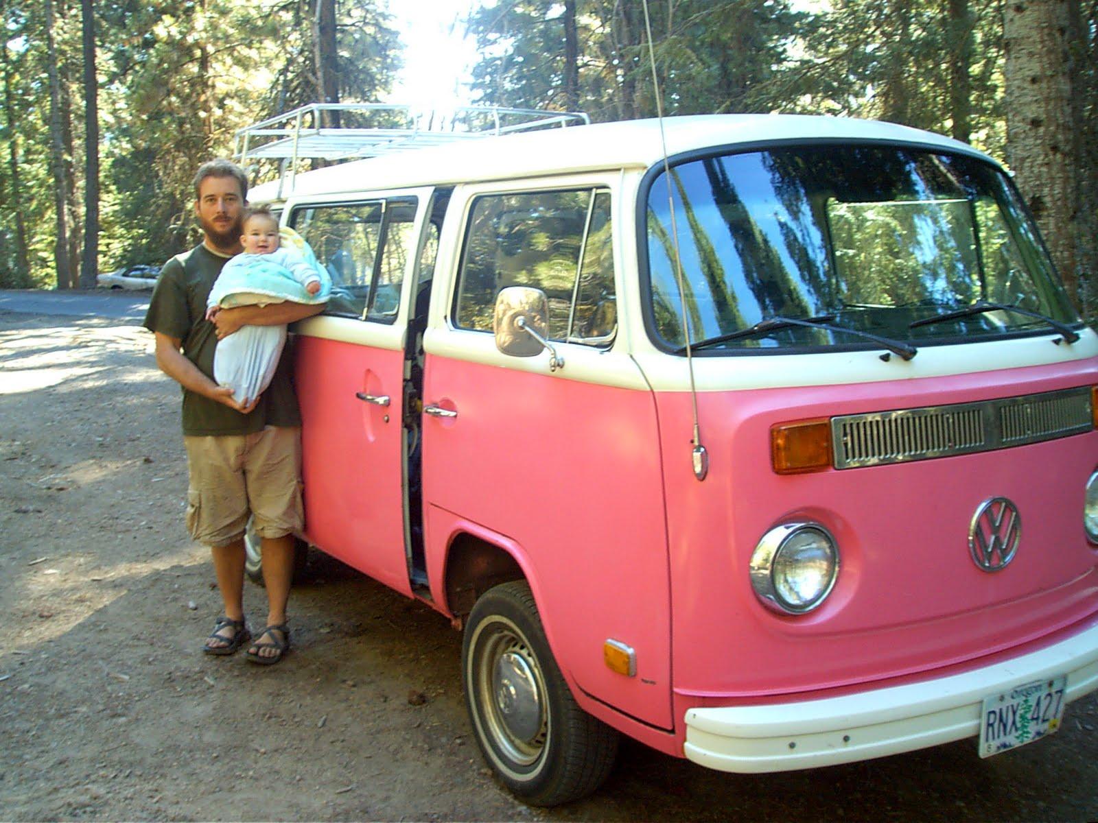 Sallyseashell Goodbye Pink Volkswagon Bus