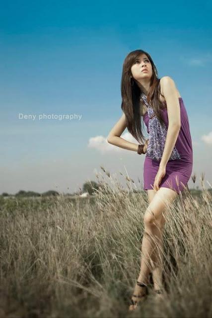Ajeng Julia, Model IGO Cantik Mulus Seger di Mata