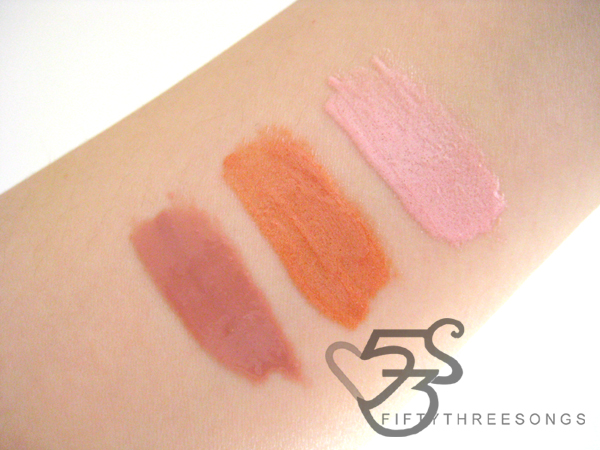 NYX GODDESS OF THE NIGHT LIPGLOSS (SWATCHES)