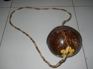 Tas Batok Utuh, srempang ,tas batok, tas etnik, tas  lokal, tas bahan alam, tas natural