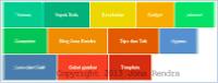 Membuat Widget Label Blog Tampilan Metro Flat Blogger jonarendra